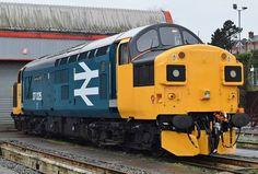 37025 Electric Locomotive, Diesel Locomotive, Steam Locomotive, Rail Train, Train Room, British Rail, Better Day, Train Tracks, Diesel Engine