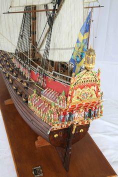 VASA warship 1/35 Scale Model