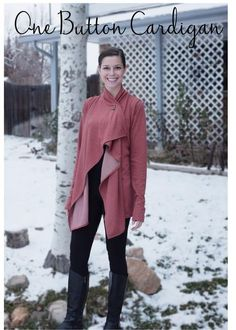 Greenstyle Creations - One button cardigan