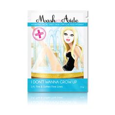 MaskerAide I Don't Wanna Grow Up Facial Sheet Mask -- Special  product just for you. See it now! : SkinCare