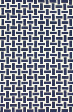 Savanna Basketweave Flatwoven Navy Blue Rug - 5x8 $99, 7'6x9'6 $199