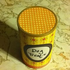 Repurpose a pirouette cookie tin into a useful coffee can for Can you recycle cookie tins
