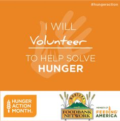 This month, give your time to help our hungry neighbors. Every volunteer can make a real difference. Inspire others and share a photo of yourself volunteering at Montana Food Bank Network by using hashtags #EndHungerMT #HungerAction