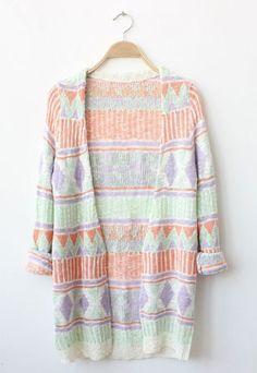 aztec sweater.
