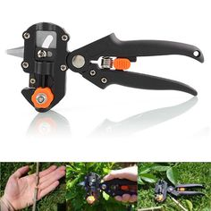 Quality Pro Garden Tree Professional Pruning Shears Grafting Cutting Household Tool With 2 Blades Hot