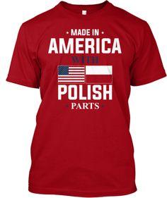 Limited Edition Polish Parts Shirt! | Teespring