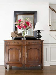 8 different ways to use a credenza for storage