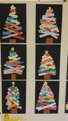 Kerstboom, groep 6