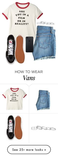 """I should be happy, not tipping the scales"" by crystal2004 on Polyvore featuring AG Adriano Goldschmied, Vans and Kendra Scott"