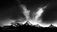 Sunrise over Himalayas II -