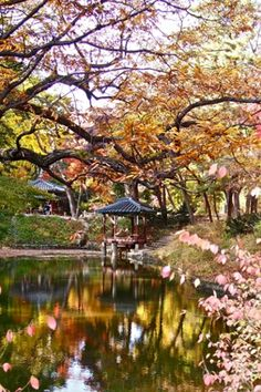 1 Anguk (Changdeokgung) (Autumn) – One of five former royal residences in downtown Seoul, Changdeok Palace is renowned for the way its struc...