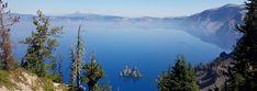 Crater Lake – אש ותמרות עשן ואגם אחד מדהים – על טיולים ומה שביניהם Kids Rugs, Mountains, Nature, Travel, Naturaleza, Viajes, Kid Friendly Rugs, Destinations, Traveling