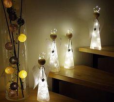 Bastelanleitung + Material f. beleuchteten Engel Lichterkette basteln Bastelset | Bastel- & Künstlerbedarf, Schmuckherstellung, Perlen- & Schmuck-Bastelsets | eBay!