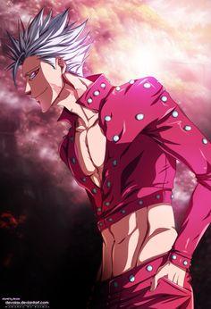 sds ban wallpaper - sds ban , sds ban x elaine , sds ban wallpaper , sds ban fanart Seven Deadly Sins Anime, 7 Deadly Sins, Anime Naruto, Anime Guys, Ban Anime, Seven Deady Sins, Handsome Anime, One Piece Anime, Anime Demon