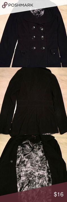 Black Peacoat Forever 21. Size Small. Forever 21 Jackets & Coats Pea Coats