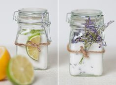InfusedSugar - a sweet & super easy gift to make, whether you only need one or a large quantity. Use our bale jars or candle jars - these sugars look great on the counter in any kitchen.
