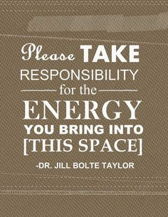 FREE PRINTABLE: My need for more positive energy in my life- November quote of the month