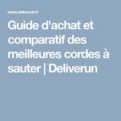 Guide d'achat et comparatif des meilleures cordes à sauter   Deliverun Living Fence, Stay Fit, Free Stock Photos, Smoothie Recipes, Projects To Try, Food And Drink, Healthy Recipes, Guide, Cooking