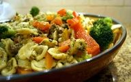 Chicken Pesto Pasta with Broccoli and Peppers | Easy Mid-Week Meals
