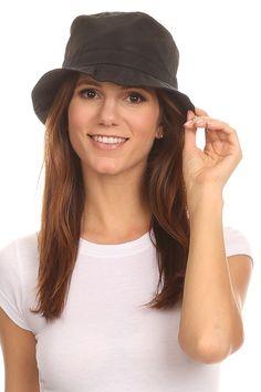44f67ac2138 LL Unisex Packable Rain Hat Lightweight Year Round Use - 2 Sizes for Best  Fit - Black Bucket - C912HZ13BV3