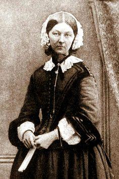 Florence Nightingale. La dama de la lámpara.