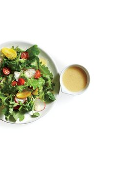 We love the sweet, savory, citrus-packed punch this bright dressing adds to fresh greens, grains, or seafood.