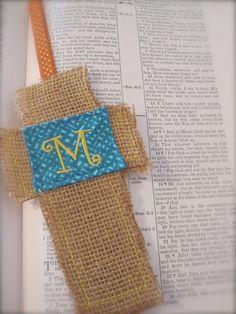 Monogrammed Bookmark by Poyeema on Etsy, $7.50