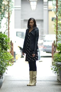 An Unknown Quantity   New York Fashion Street Style Blog by Wataru Bob Shimosato    Yanyan Pei at Mondrian Soho.
