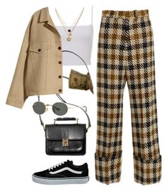 """Pointless"" by chanelandcoke ❤ liked on Polyvore featuring Sea, New York, Monki, H&M, Vans, Ray-Ban and LowLuv"