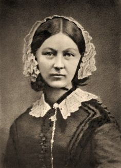 Florence Nightingale 1858 - this is one of my favourite pictures of her. I love the serious, thoughtful expression.
