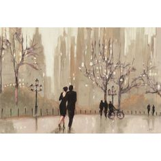 Trademark Art 'An Evening Out Neutral' by Julia Purinton Painting Print on Canvas & Reviews | Wayfair