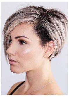 Undercut Hairstyles Women, Choppy Bob Hairstyles, Short Hairstyles For Women, Undercut Women, Pixie Haircuts, Pixie Cut With Undercut, Pixie Undercut Hair, Shaved Hairstyles, Formal Hairstyles