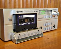 Vintage audio cassette deck collection - 1001 Hi-Fi Cd Audio, Audio Room, Hifi Audio, Cassette Recorder, Tape Recorder, Cassette Tape, Hi Fi System, Audio System, Recording Equipment