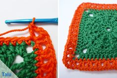 Borte häkeln - Anfänger-Anleitung für gehäkelte Spitze - Talu.de Handicraft, Crochet Earrings, Jewelry, Crochet Ripple, Crochet Basics, Tutorials, Breien, Ideas, Craft