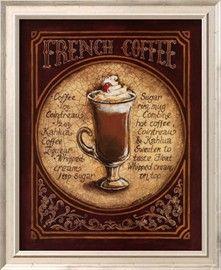 Café francés (tamaño reducido) Lámina por Gregory Gorham en AllPosters.es