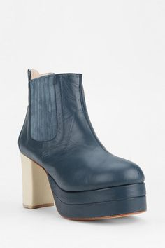 Carin Wester Rousseau Platform Ankle Boot Online Only