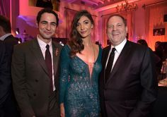 Zac Posen, Julia Jackson and Harvey Weinstein. Photo: Rob Latour/Variety/REX/Shutterstock