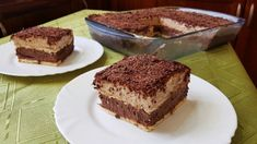 With banana ♥Matina Banana Dessert, Greek Recipes, Tiramisu, Easy Desserts, Food And Drink, Sweets, Candy, Chocolate, Ethnic Recipes