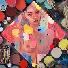"""""Sugar""  Follow the artist:  @erikjonesart  #artbotic #artist #art #"" Photo taken by @artbotic on Instagram, pinned via the InstaPin iOS App! http://www.instapinapp.com (06/30/2015)"