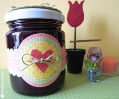 Sizzix.co.uk - Blogs - Elena Roche: tarro decorado