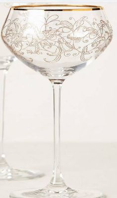 1dfd116060f0 Toasting Glasses for Sweetheart Table. Coupe for champagne toast   I also  ordered the wine glasses.