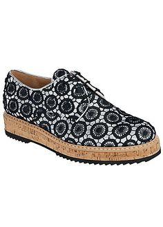 Heine Lace Up Shoes