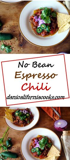This paleo recipe for no bean chili takes only one-pot and is spiced with espresso! | danicaliforniacooks.com