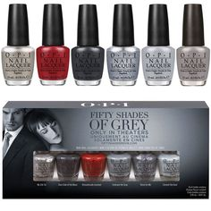 fifty shades of grey nails - Google Search