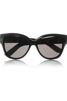 Yves Saint Laurent,D-frame acetate sunglasses