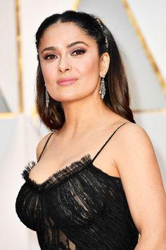 Salma Hayek at the 2017 Oscars.