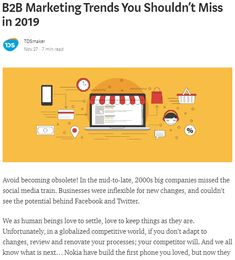 Avoid becoming obsolete! In the mid-to-late, big companies missed the social media train. Businesses were inflexible for new changes, and couldn't see . Social Media Training, Data Sheets, Growing Your Business, 2000s, Content Marketing, Trends, Templates, Learning, Medium