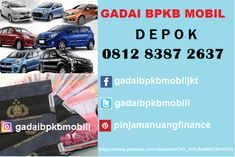 Tempat Gadai Bpkb Mobil di Kota Depok Jawa Barat 081283872637 Jakarta