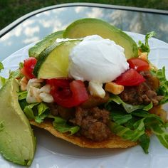 """Chipotle Beef Tostadas   """"Love these-very similar to what we had at a walk-up eatery while in Mexico."""""""