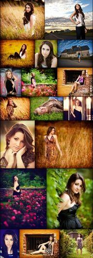 Photography - Seniors / Cute senior picture poses.  http://www.sawickistudios.com/2011/10/busy-fall.html - Seniors